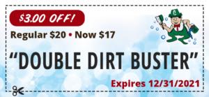 dirt buster coupon