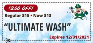 ultimate wash coupon